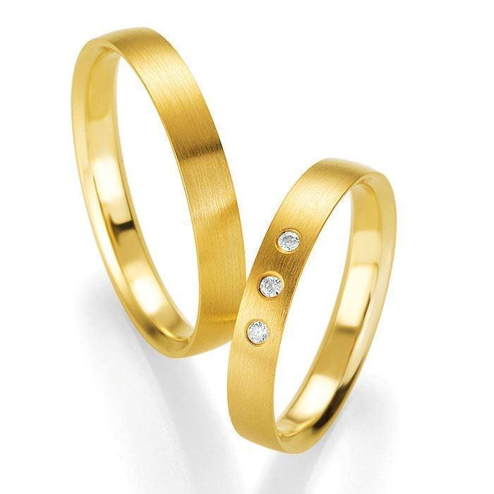 Gifteringer i gult gull 9 kt, 3.5 mm. PROFIL LIGHT - 48044160