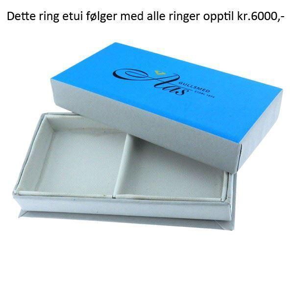 Bilde av Gifteringeske Gullsmed Aas, hvitt. - 490000