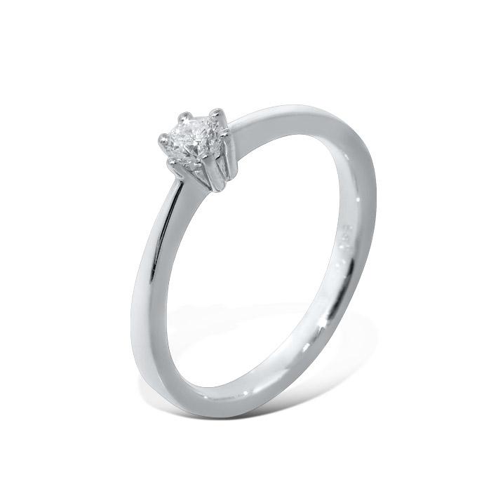 Diamantring Frøya med 0,15 ct W-Si-3105015