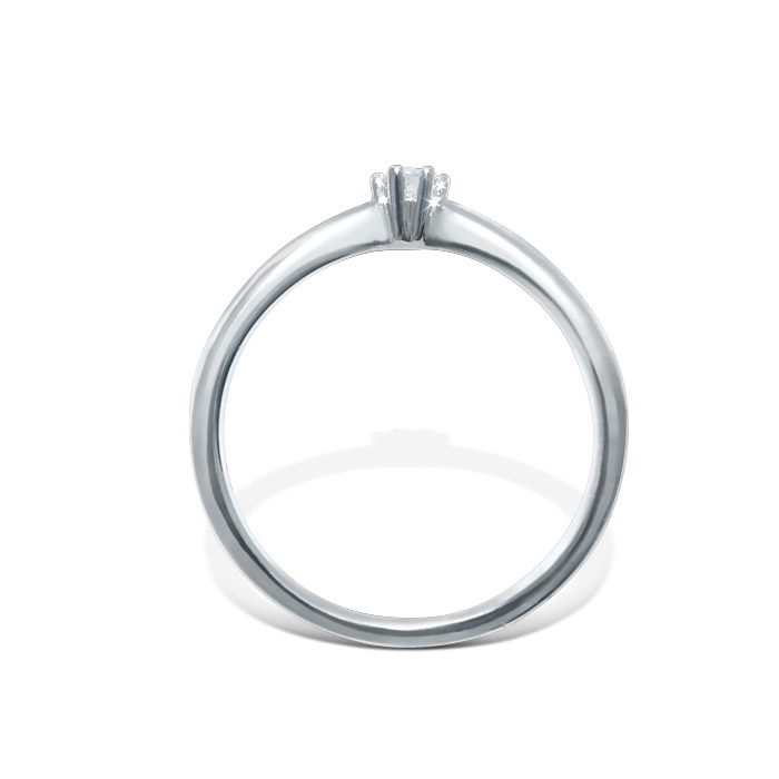 Diamantring Frøya med 0,10 ct W-Si-3105010