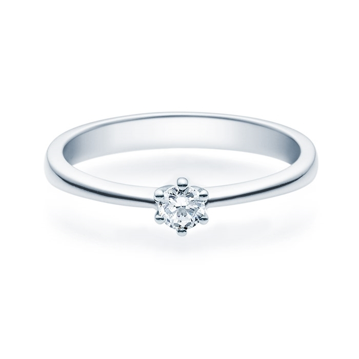 Enstens diamantring Diona Platina 950 med 0,16 ct TW-Si.Magic Moments -18001016pt