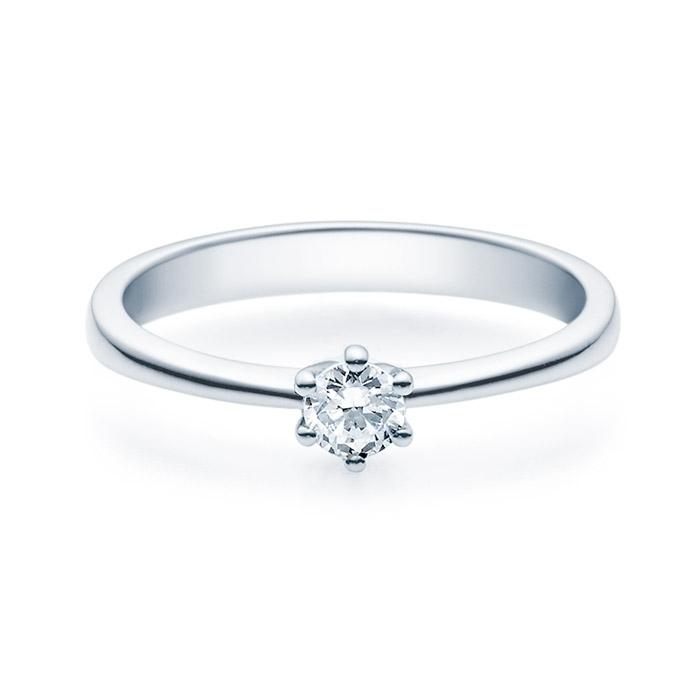 Enstens diamantring Diona i  hvitt gull med 0,20 ct TW-Si.Magic Moments -18001020