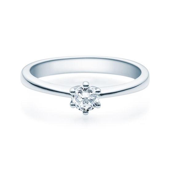 Enstens diamantring Diona 14 kt  hvitt gull med 0,25 ct TW-Si.Magic Moments -18001025