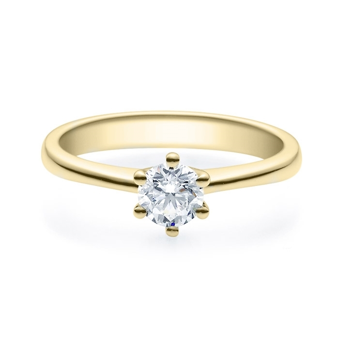 Enstens diamantring Diona 14 kt gull med 0,50 ct TW-Si.Magic Moments -18001050