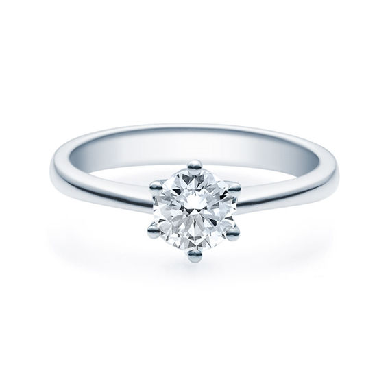 Enstens diamantring Diona 14 kt gull med 0,70 ct TW-Si.Magic Moments -18001070