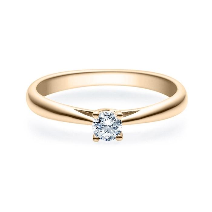 Enstens diamantring Alida 14 kt gull med 0,20 ct TW-Si.Magic Moments -18002020