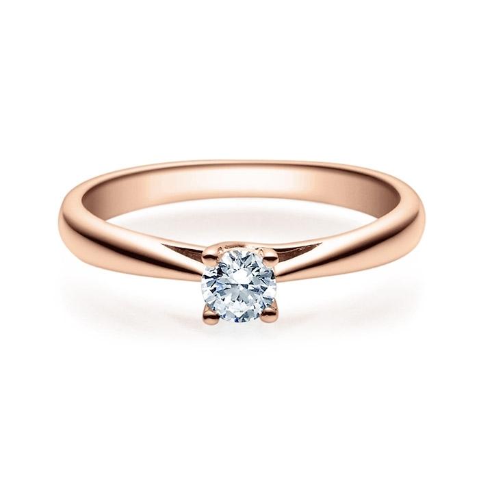Enstens diamantring Alida 14 kt gull med 0,25 ct TW-Si.Magic Moments -18002025