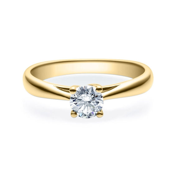 Enstens diamantring Alida 14 kt gull med 0,50 ct TW-Si.Magic Moments -18002050