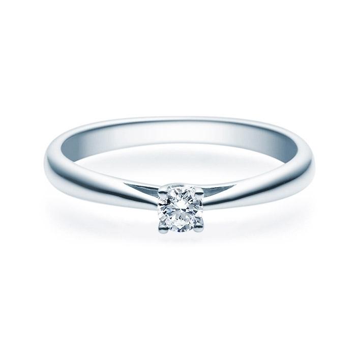 Enstens diamantring Alida Platina med 0,16 ct TW-Si.Magic Moments -18001016pt