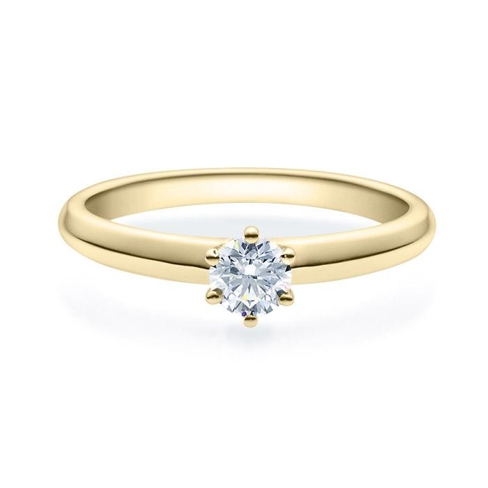 Enstens diamantring Violetta 14 kt gull med 0,30 ct TW-Si.Magic Moments -18003030