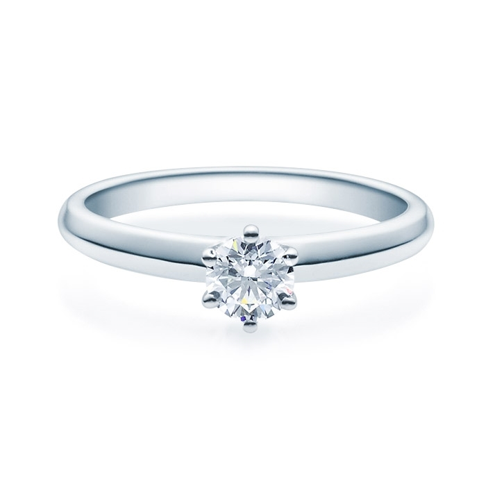 Enstens diamantring Violetta 14 kt gull med 0,40 ct TW-Si.Magic Moments -18003040