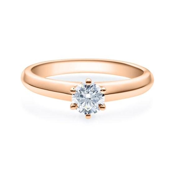 Enstens diamantring Violetta 14 kt gull med 0,50 ct TW-Si.Magic Moments -18003050