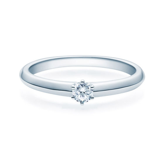 Enstens diamantring Violetta Platina med 0,16 ct TW-Si.Magic Moments -18003016pt