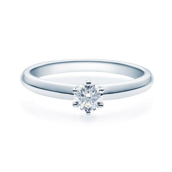 Enstens diamantring Violetta Platina med 0,30 ct TW-Si.Magic Moments -18003030pt