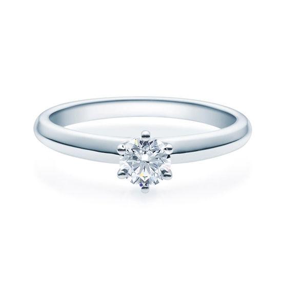 Enstens diamantring Violetta Platina med 0,40 ct TW-Si.Magic Moments -18003040pt