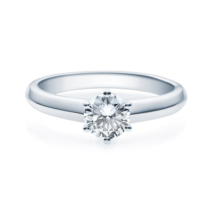 Enstens diamantring Violetta Platina med 070 ct TW-Si.Magic Moments -18003070pt