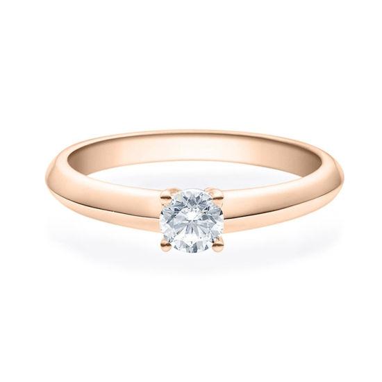 Enstens diamantring Elissa m/0,30 ct i 14kt gull. TW-Si. -18004030