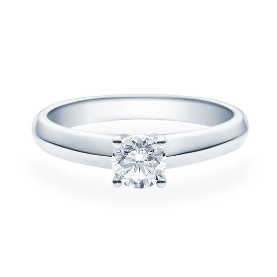 Enstens diamantring Elissa m/0,50 ct i 14kt gull. TW-Si. -18004050