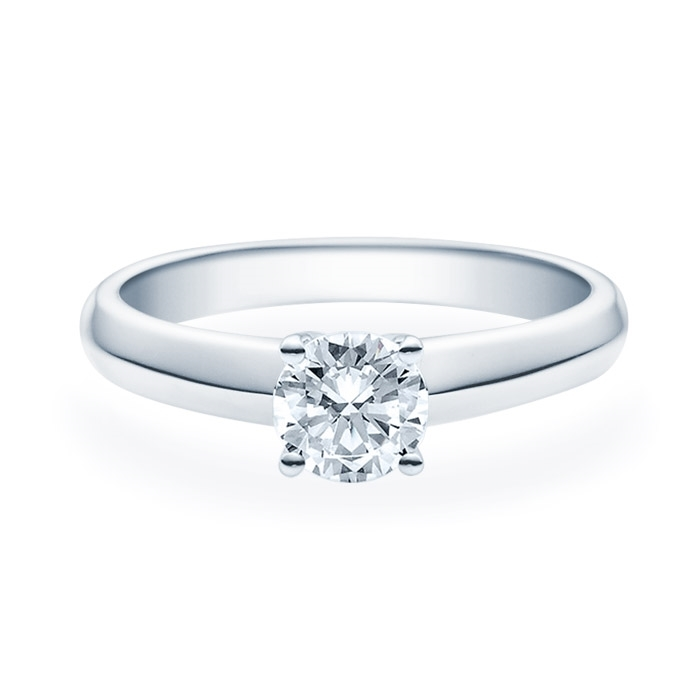 Enstens diamantring Elissa m/0,70 ct i 14kt gull. TW-Si. -18004070