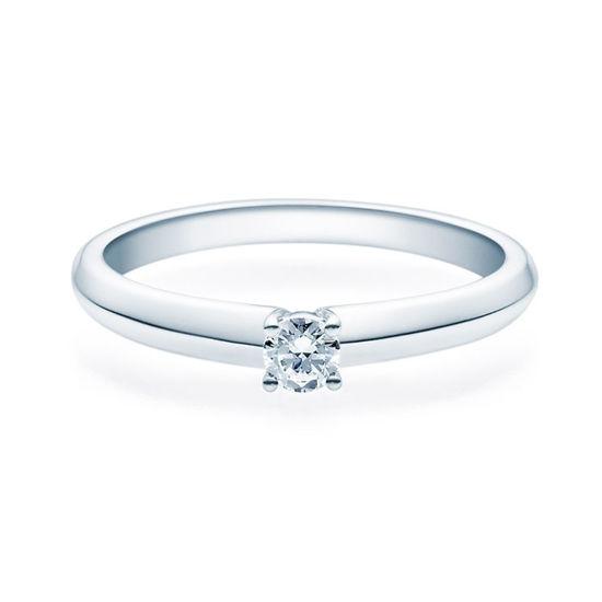 Enstens diamantring Elissa m/0,16 ct TW-Si i platina -18004016pt