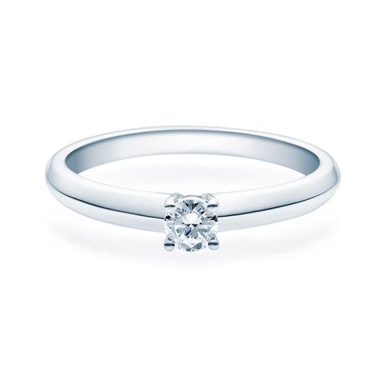Enstens diamantring Elissa m/0,20 ct TW-Si i platina -18004020pt