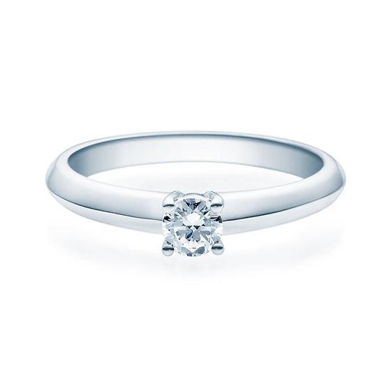Enstens diamantring Elissa m/0,25 ct TW-Si i platina -18004025pt
