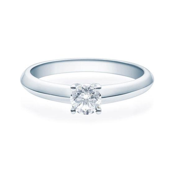Enstens diamantring Elissa m/0,40 ct TW-Si i platina -18004040pt