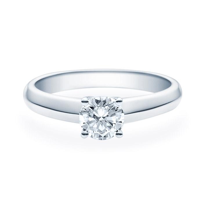 Enstens diamantring Elissa med 0,70 ct TW-Si i platina -18004070pt