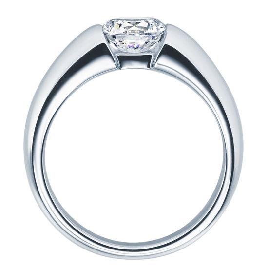 Enstens diamantring med 1,00 ct TW-Si i platina -18006100pt