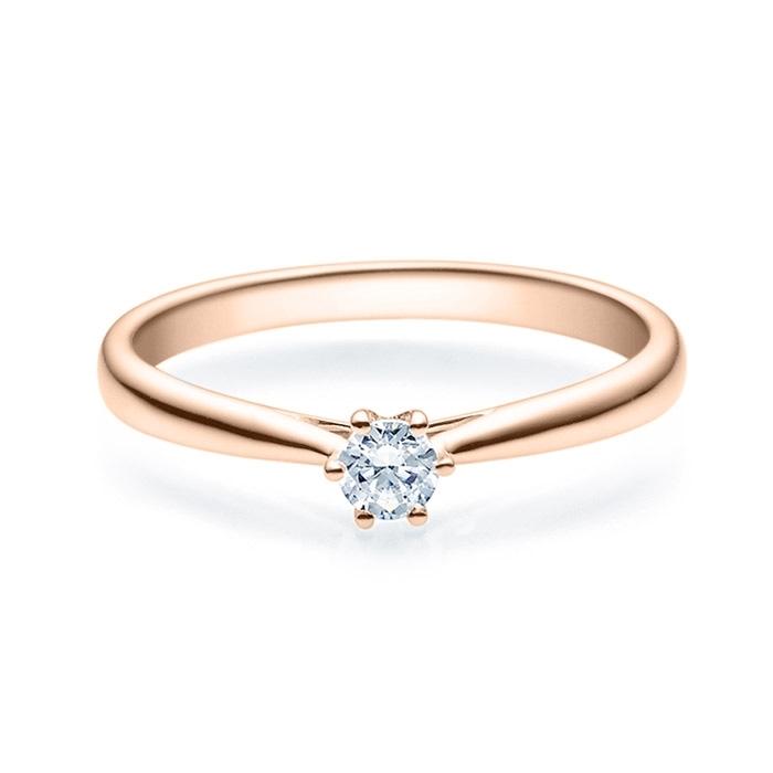 Enstens diamantring Leticia med 0,16 ct i 14kt gull. TW-Si. -18007016