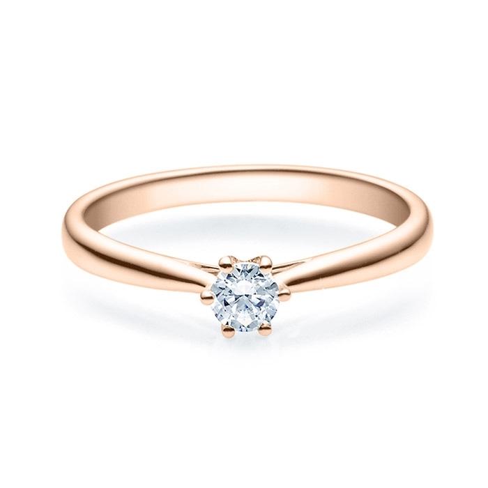 Enstens diamantring Leticia med 0,20 ct i 14kt gull. TW-Si. -18007020