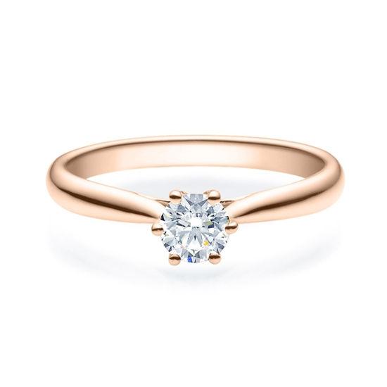 Enstens diamantring Leticia med 0,40 ct i 14kt gull. TW-Si. -18007040