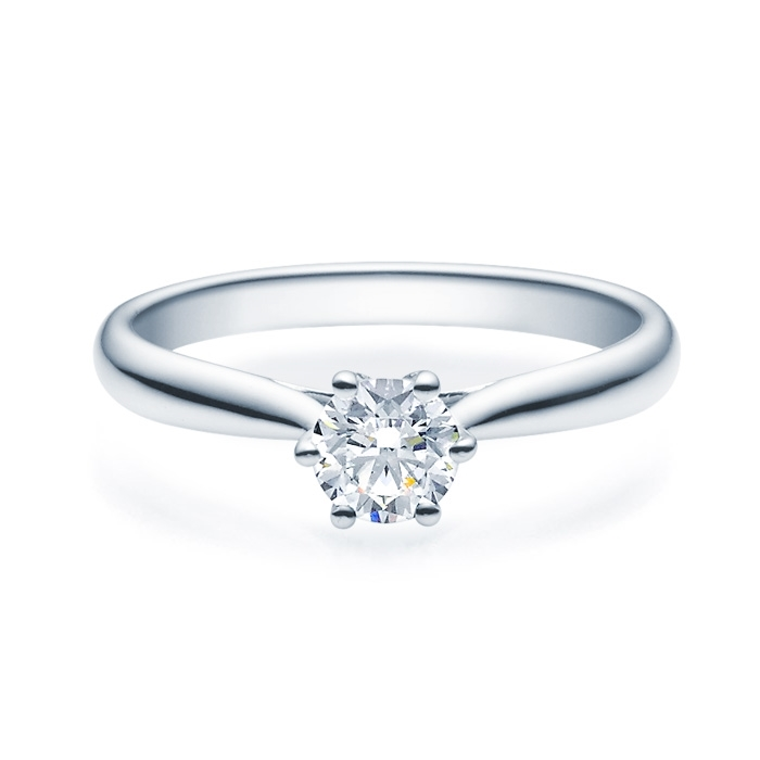 Enstens diamantring Leticia med 0,50 ct i 14kt gull. TW-Si. -18007050