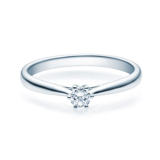Enstens diamantring Leticia med 0,16 ct TW-Si i platina -18007016pt