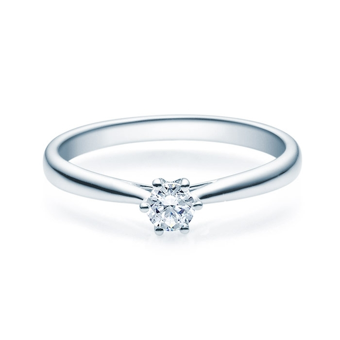 Enstens diamantring Leticia med 0,20 ct TW-Si i platina -18007020pt