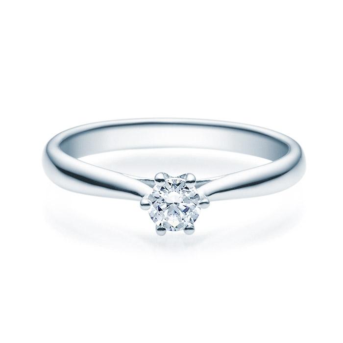 Enstens diamantring Leticia med 0,25 ct TW-Si i platina -18007025pt