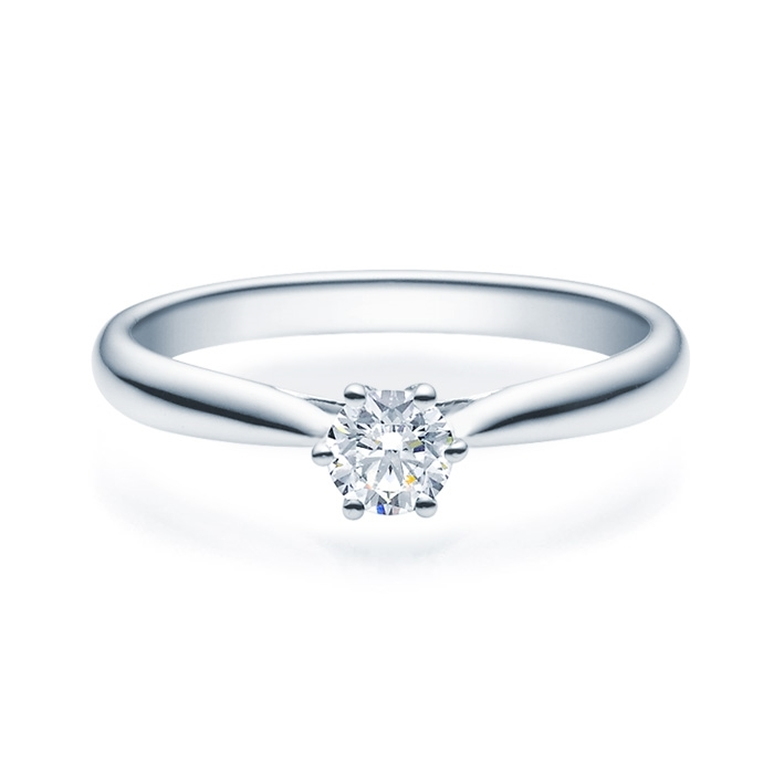 Enstens diamantring Leticia med 0,30 ct TW-Si i platina -18007030pt
