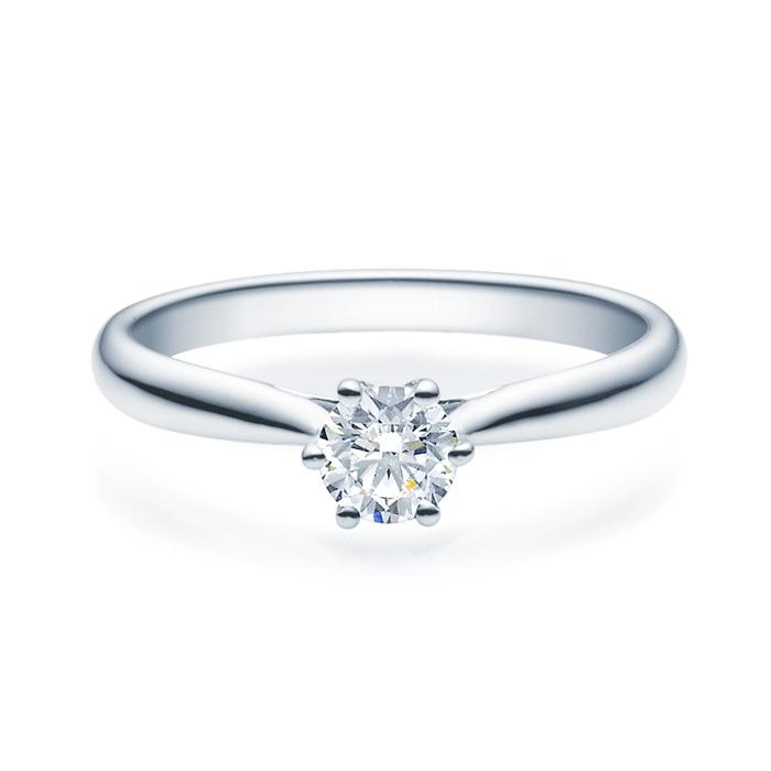 Enstens diamantring Leticia med 0,40 ct TW-Si i platina -18007040pt