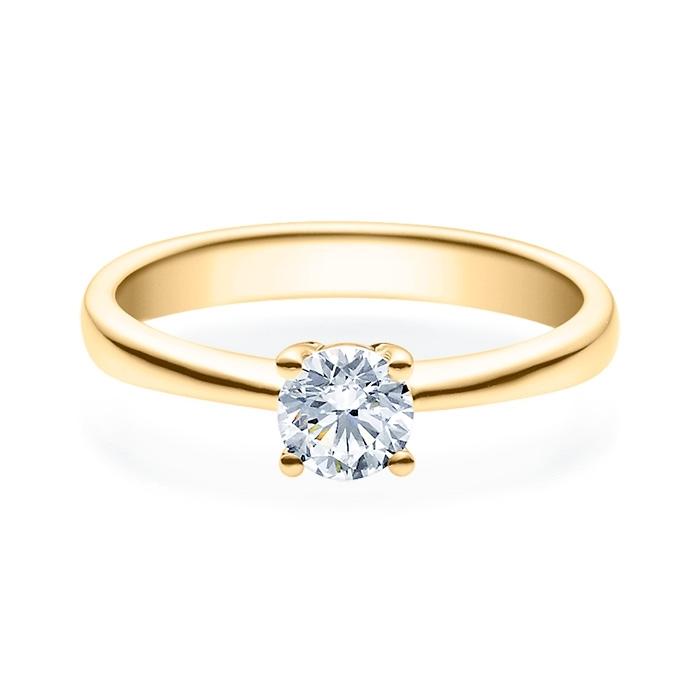 Enstens diamantring Lilya med 0,50 ct i 14kt gull. TW-Si. -18008050