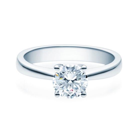 Enstens diamantring Lilya med 1,00 ct i 14kt gull. TW-Si. -18008100