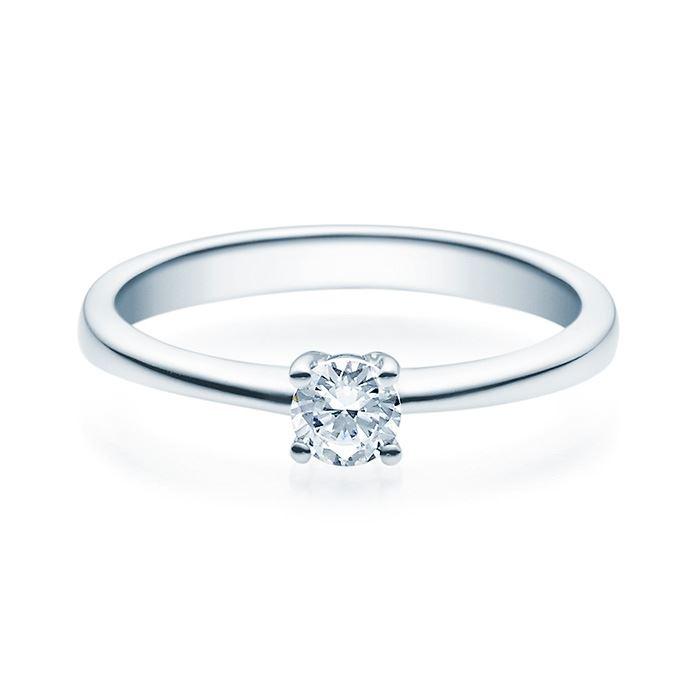 Enstens diamantring Lilya med 0,25 ct TW-Si i platina -18008025pt