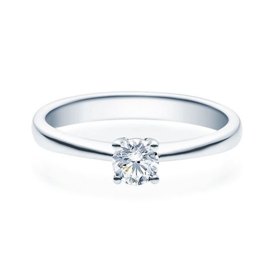 Enstens diamantring Lilya med 0,30 ct TW-Si i platina -18008030pt