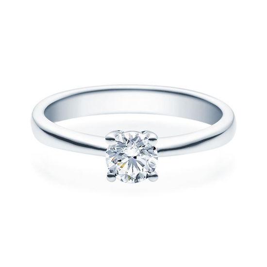 Enstens diamantring Lilya med 0,50 ct TW-Si i platina -18008050pt
