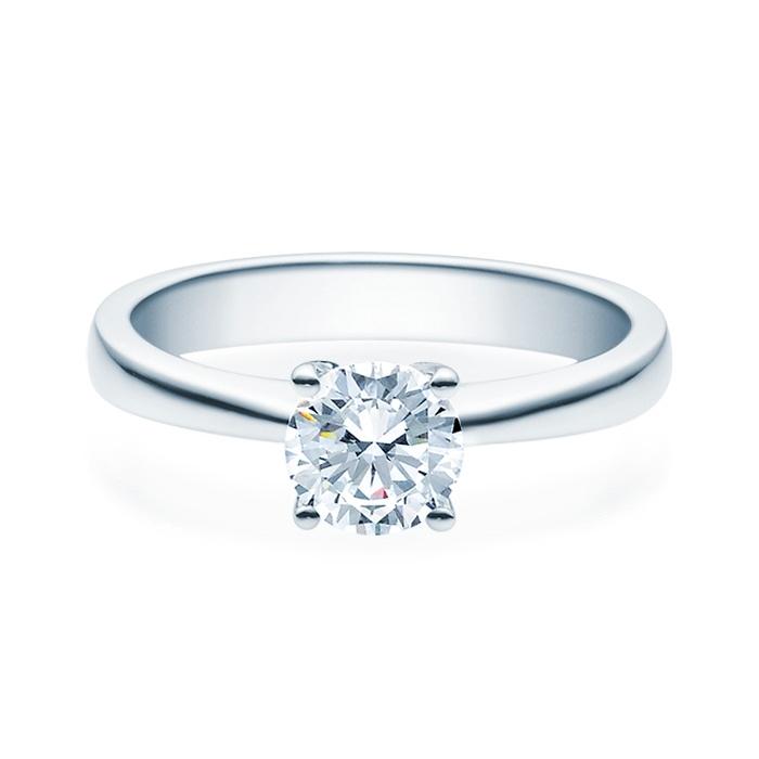 Enstens diamantring Lilya med 0,70 ct TW-Si i platina -18008070pt