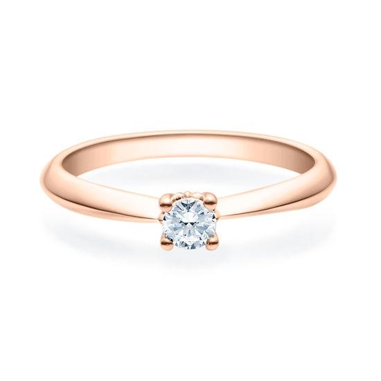 Enstens diamantring Naima med 0,20 ct i 14kt gull. TW-Si. -18009020