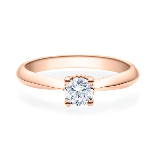 Enstens diamantring Naima med 0,40 ct i 14kt gull. TW-Si. -18009040