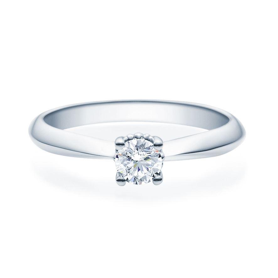 Enstens diamantring Naima med 0,30 ct i 14kt gull. TW-Si. -18009030