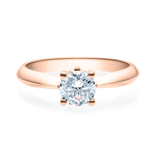 Enstens diamantring Naima med 0,70 ct i 14kt gull. TW-Si. -18009070