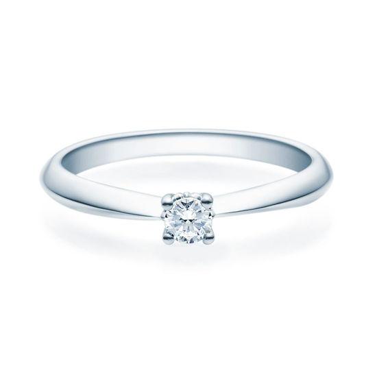 Enstens diamantring Naima med 0,16 ct TW-Si i platina -18009016pt