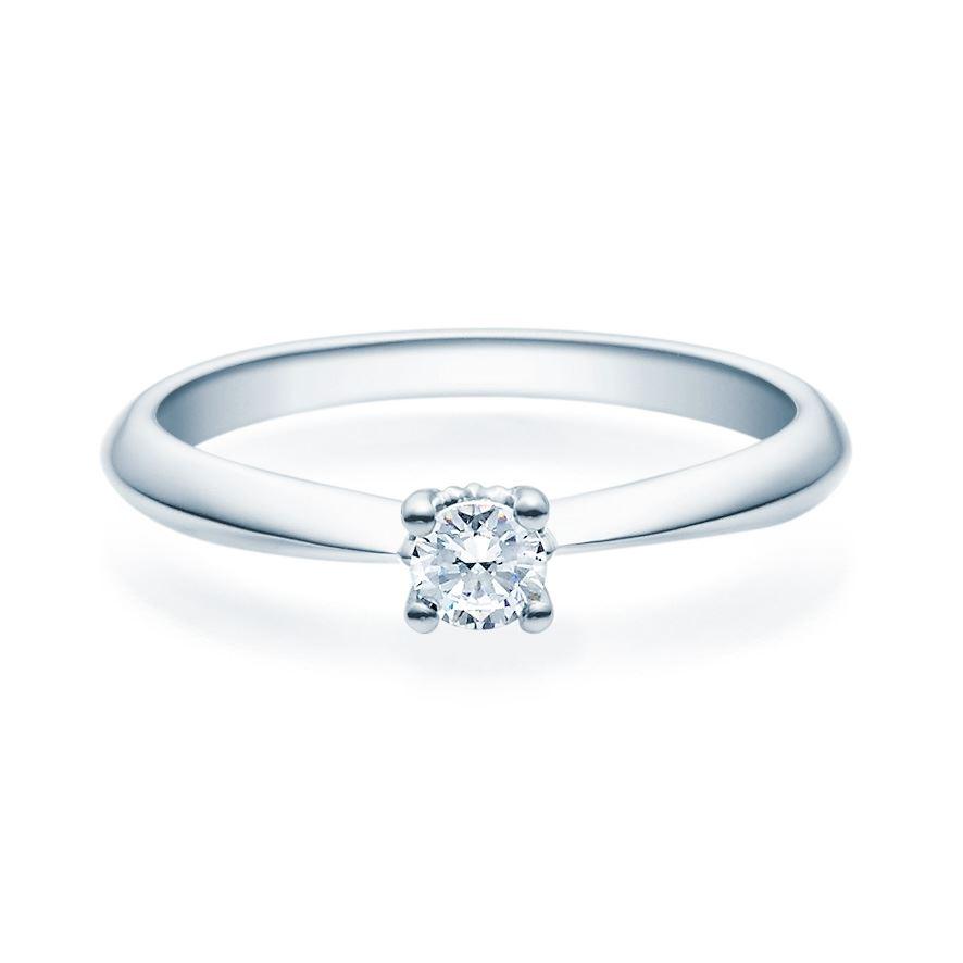 Enstens diamantring Naima med 0,20 ct TW-Si i platina -18009020pt
